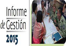 Conoce nuestro informe de gestión 2015