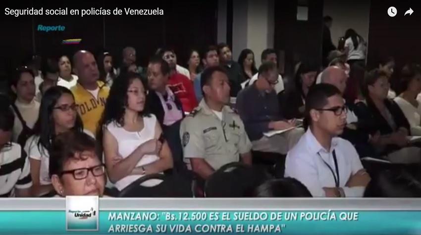 Seguridad Social En Policías De Venezuela