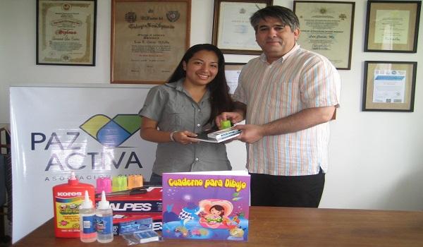 Paz Activa Entrega Donación De útiles Escolares
