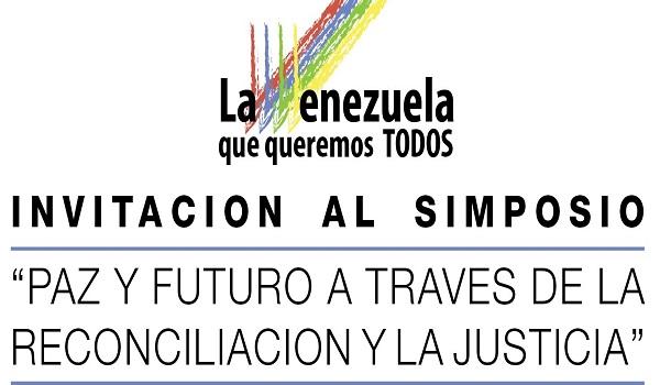 """Simposio """"Paz Y Futuro A Través De La Reconciliación Y La Justicia"""""""