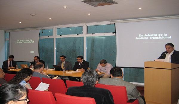 """Seminario """"Justicia Transicional Como Garantía De Paz En Procesos De Cambio Político"""""""