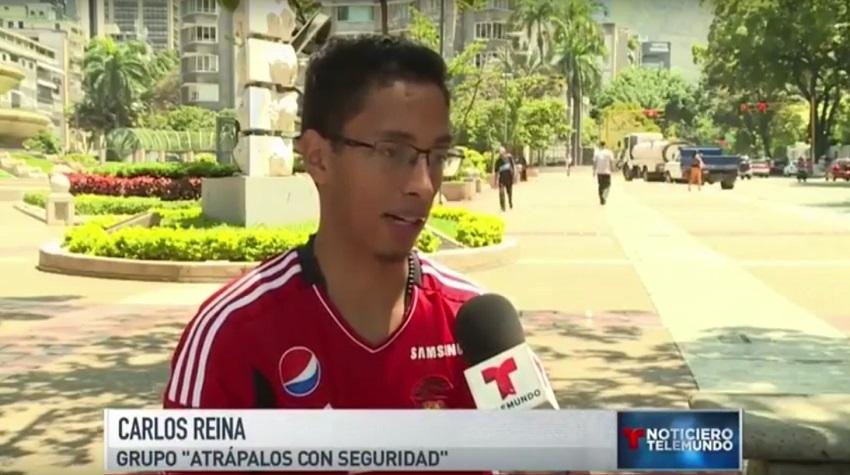 El Riesgo De Jugar 'Pokemon Go' En Venezuela (Cortesía Telemundo)