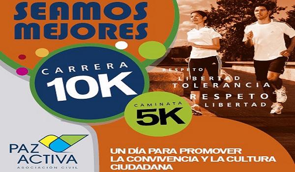 "Carrera 10K ""Seamos Mejores"" Se Realizará Este Domingo 23 De Abril"
