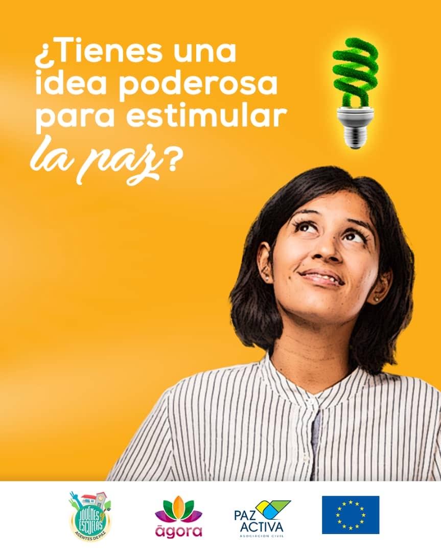 Participantes Del Proyecto Jóvenes Y Escuelas Agentes De Paz Plantearán Ideas Basadas En La Convivencia Pacífica