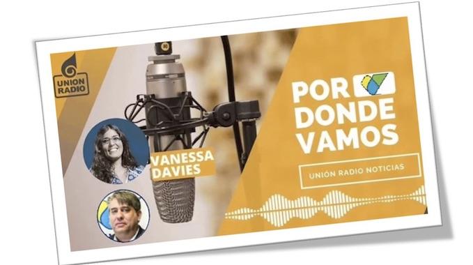 AUDIO- Luis Cedeño Habla De Las Escuelas ES.PE.RE. Con Vanessa Davis En Unión Radio