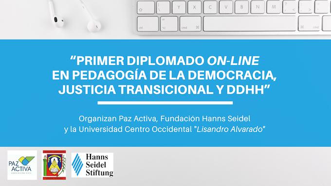 Diplomado On-Line En Pedagogía De La Democracia, Justicia Transicional Y DdHh Auspiciado Por La Fundación Hanns Seidel