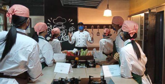 Inició Jornada De Formación Para Asistentes De Chef