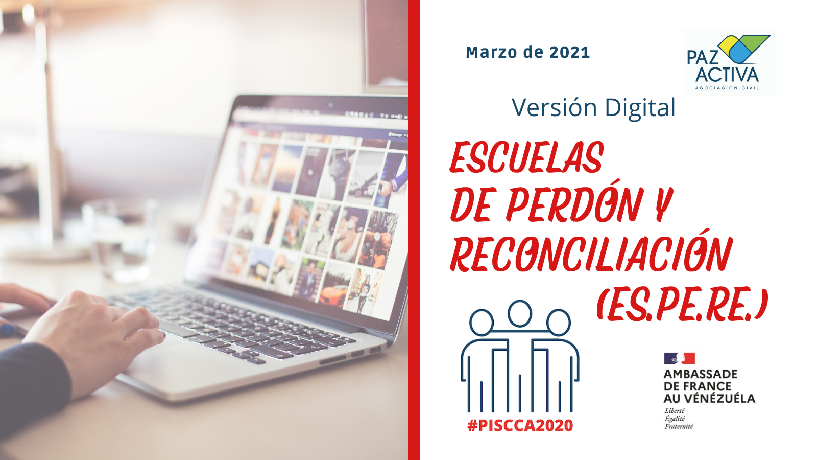 Comenzamos Las Sesiones Digitales De Escuelas De Perdón Y Reconciliación (ES.PE.RE.)